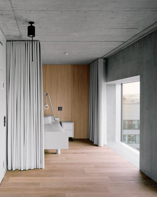 7th - 8th Floor: Palliativ Care Facility, Photo: Rasmus Norlander
